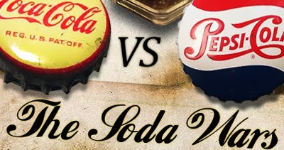 a history of the rivalry between coca cola and pepsi companies Advertising wars – pepsi vs coca cola it's amazing how the rivalry between coke and pepsi brings out not only the best in the companies themselves but also.