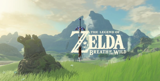 The Legend of Zelda: Breath of the Wild Wii U NX title logo