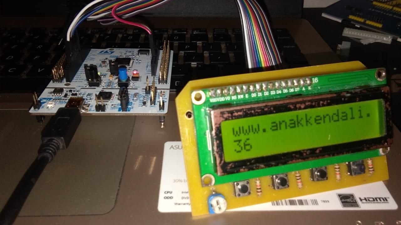 Tutorial STM32, Cara Mengakses LCD 16x2 Arduino IDE | Belajar