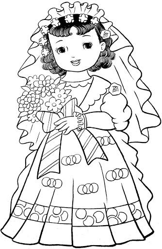 Livro De Colorir Com Menininhas Japonesas Lindas Espaco Educar