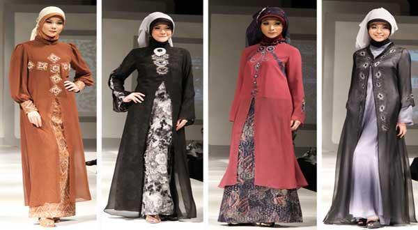 Baju Muslim Wanita dengan gaya trendy model kedua