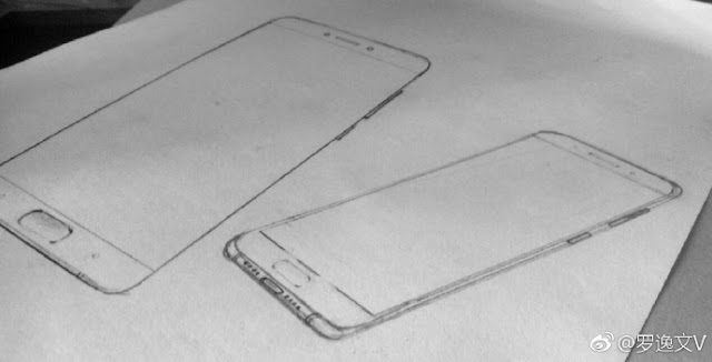 Xiaomi Mi 6 design revealed in sketches; Great in specifications in hapless design