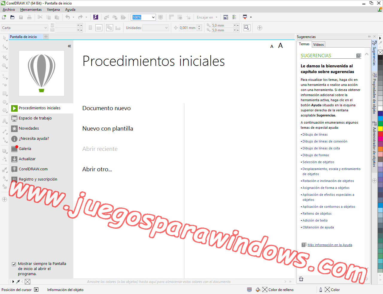 CorelDRAW Graphics Suite X7.3 ESPAÑOL Software De Diseño Gráfico Completo (XFORCE) 9