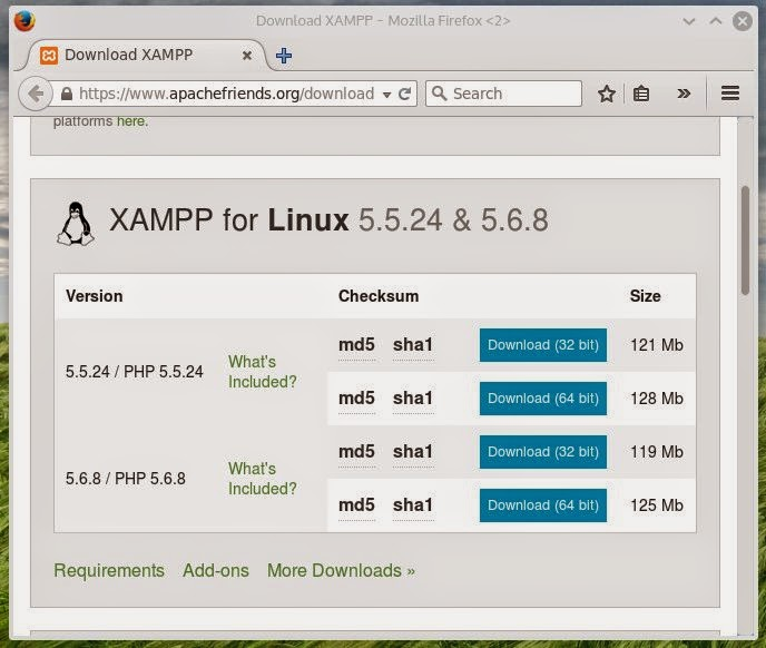 Adnan's Coding Diary: How to Install XAMPP in Linux (With GUI CP)