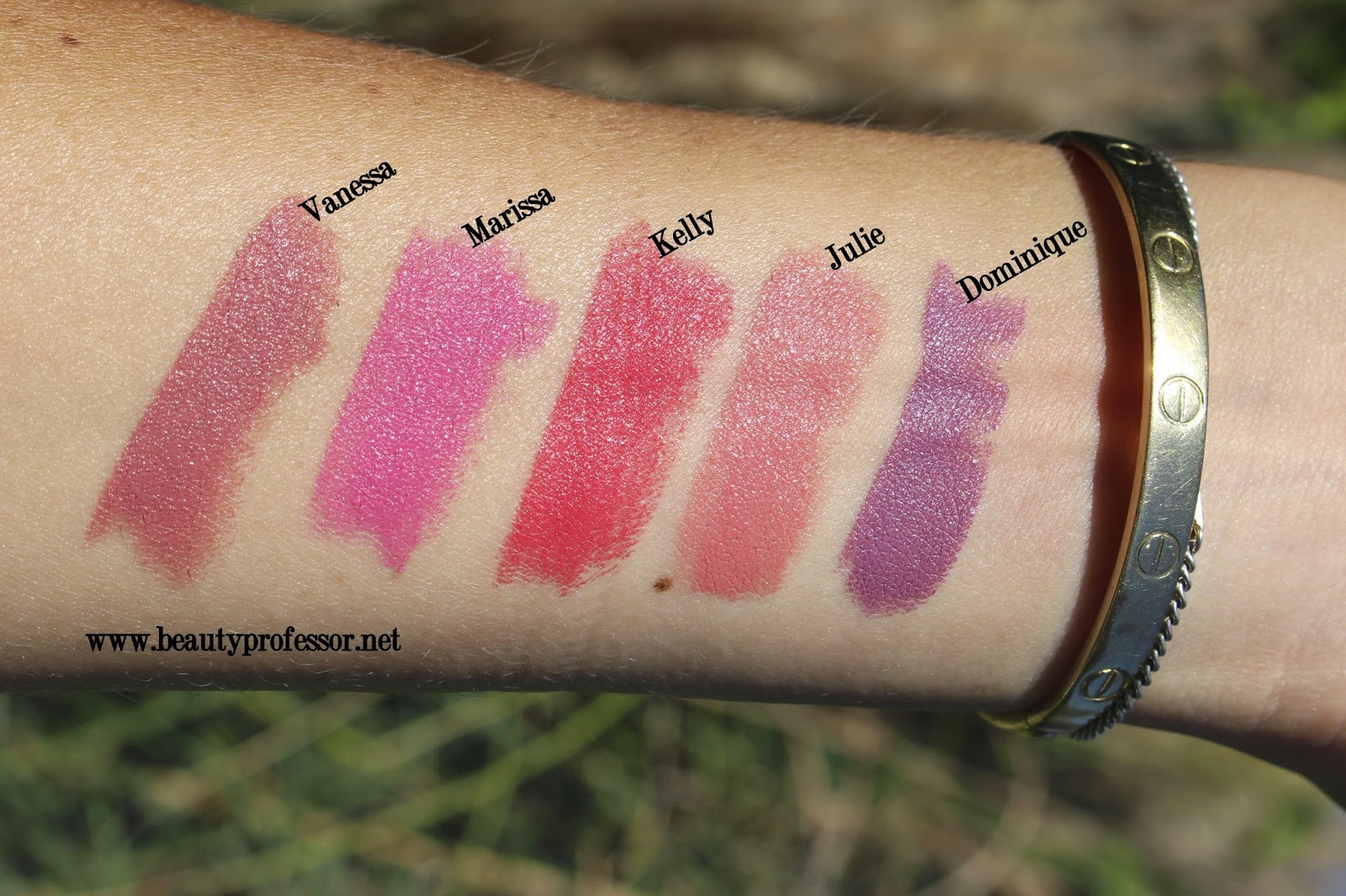 Bien connu Beauty Professor: NARS Audacious LipstickSwatches of My Selections! LB11