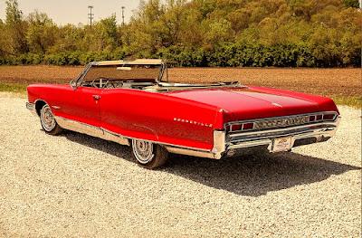 1965 Pontiac Bonneville Convertible Rear Left