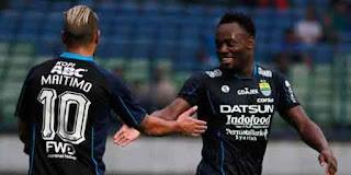 Debut Essien Mencetak Gol Bersama Persib