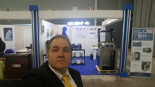 Lo stand di Creare snc, rivenditore stampanti 3D Blue Tek - SNIM17