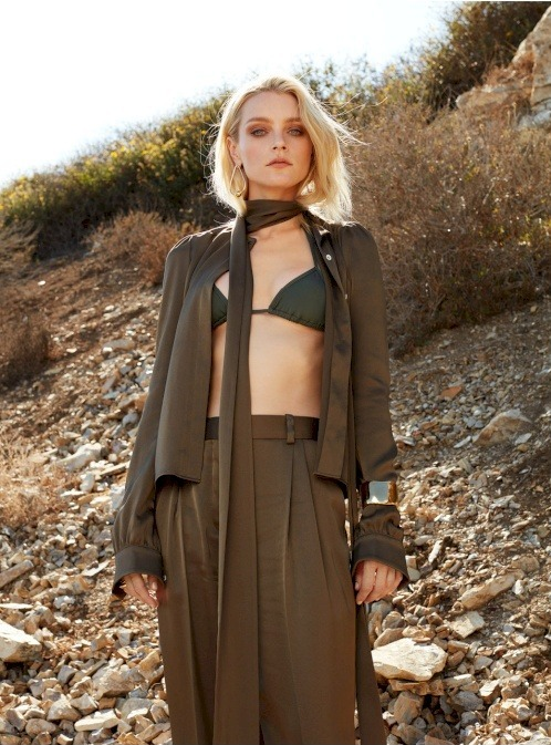 Jessica Stam by Marilou Daube for The Editorialist Pre-Fall 2016
