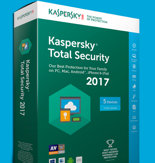 Kaspersky Total Security 2017 Trial Reset Patch 100% Working