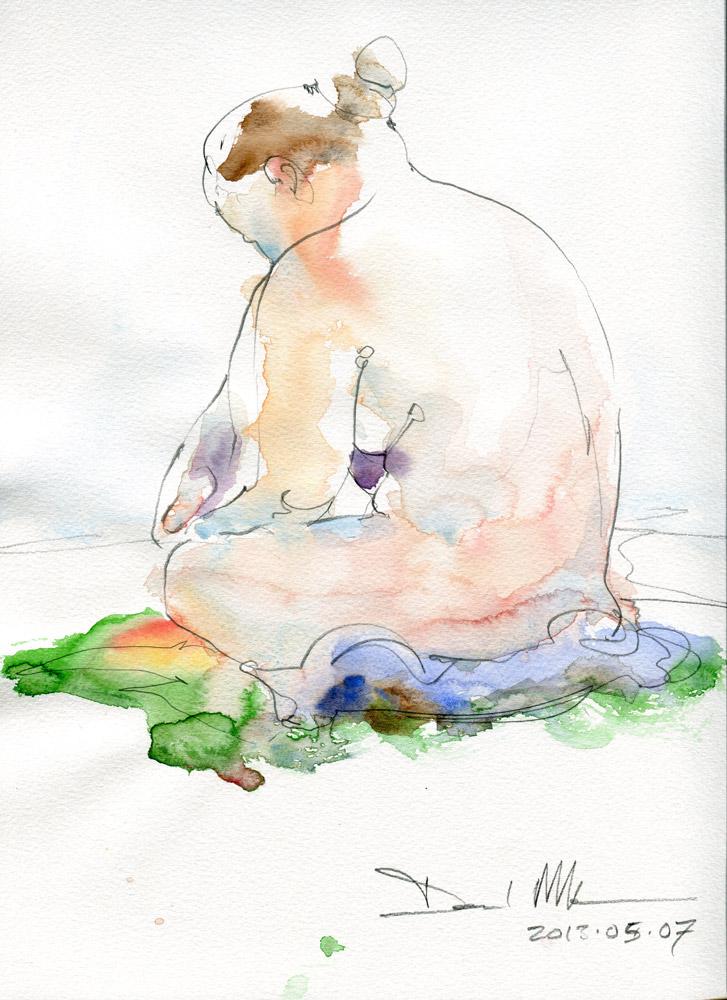 Ten minute nude by David Meldrum