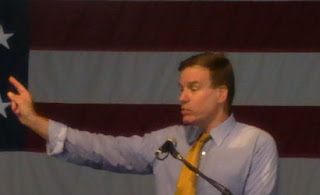 Senator Mark Warner Buena Vista Labor Day 2012 Rick Sincere