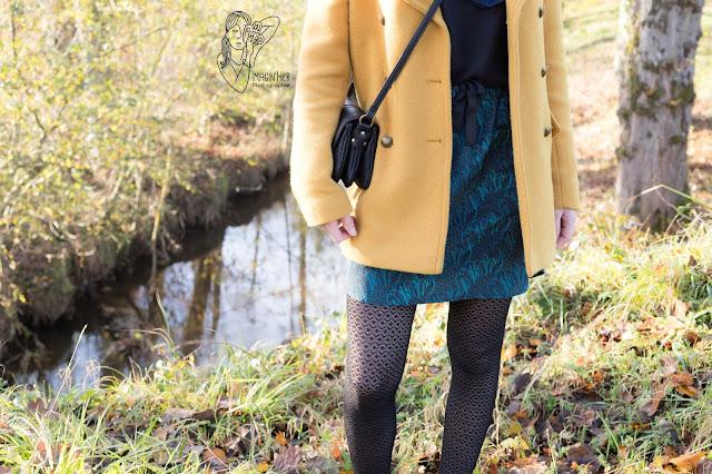 promod-manteau-jaune-moutarde