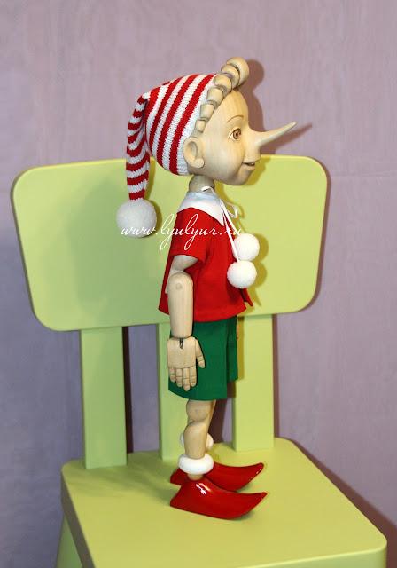Буратино, Буратино деревянный, Деревянная кукла, Сказочный персонаж, Деревянный мальчик, Пиноккио, Цапенко Юрий Васильевич, Люлюр, Lyulyur