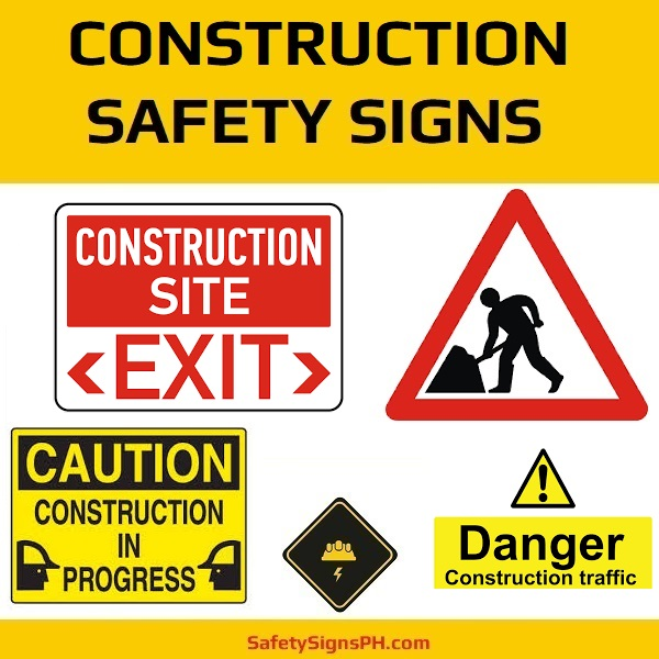Construction Safety Signs Philippines