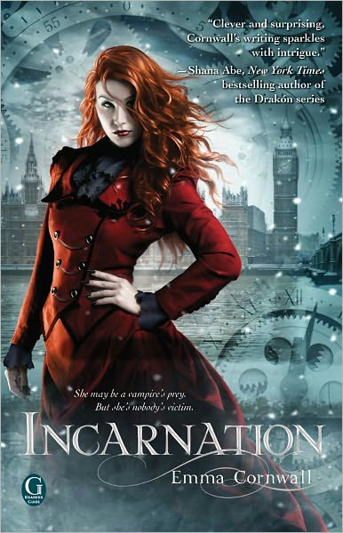 Interview with Emma Cornwall, Review of Incarnation and Giveaway
