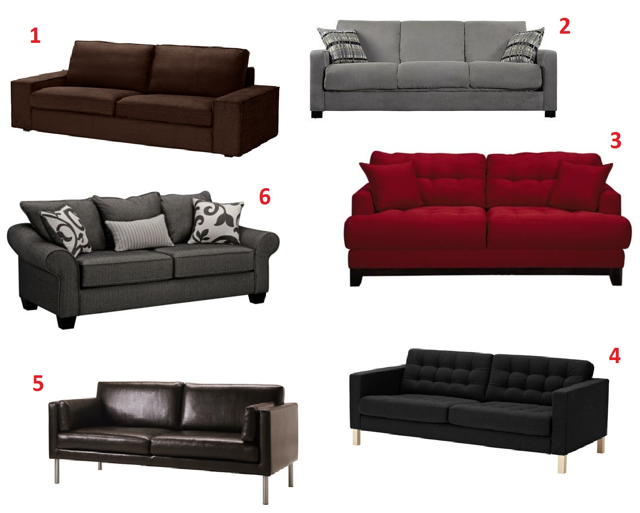 Apartment 528: Product Roundup: 28 Couches Under $1000