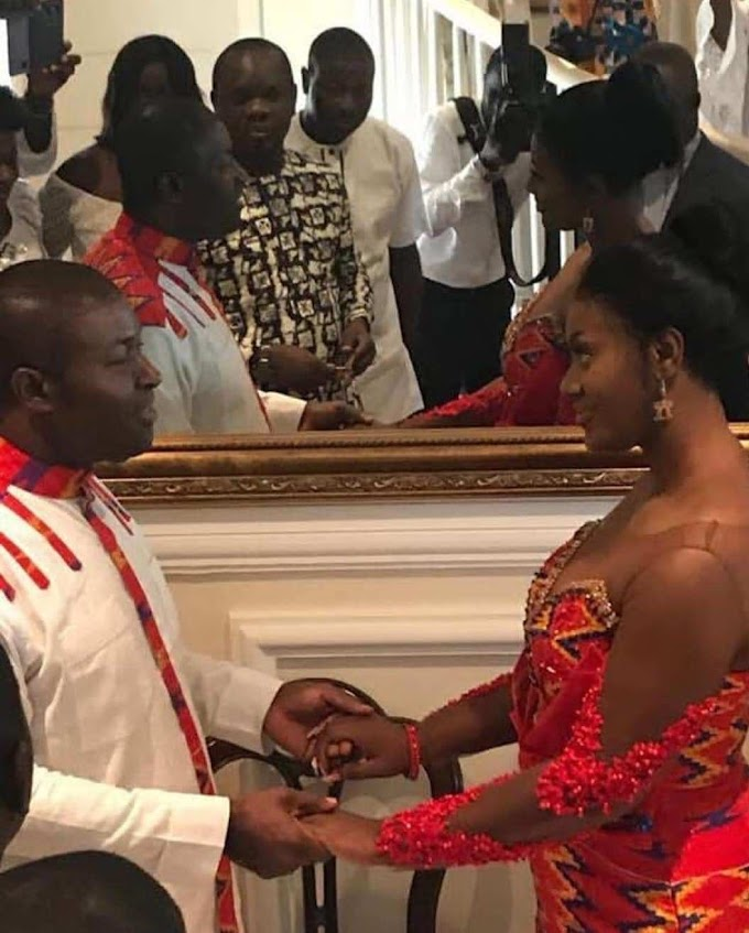 Photos: NPP's Communication Member Nana Akomeah Marries At Age 57
