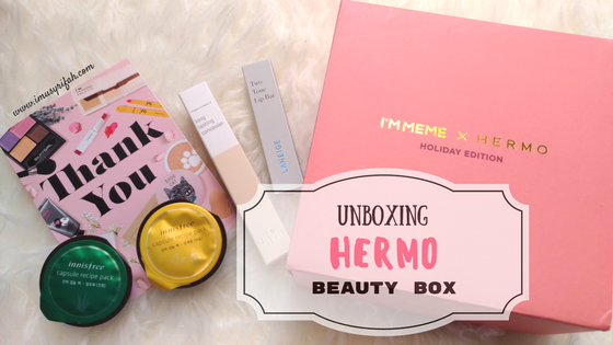 Unboxing Hermo Beauty Box : #BeautyToolsHaul