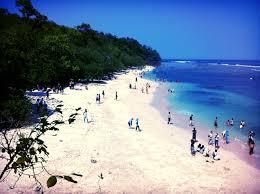Pasir Putih di Pantai Pangandaran