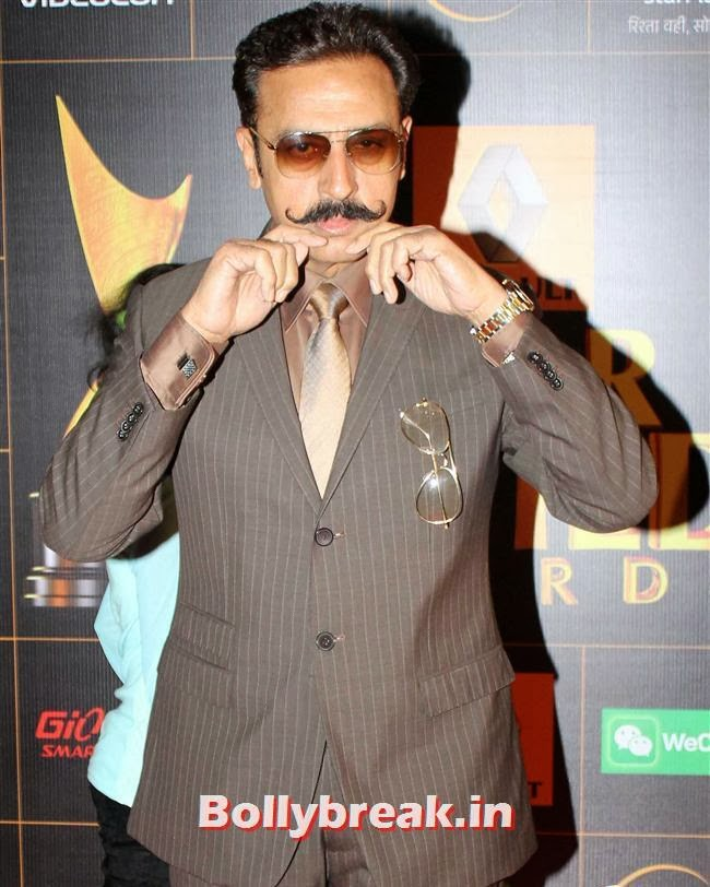 Gulshan Grover, Star Guild Awards 2014 Pics