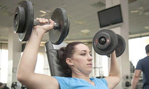 Cara Membentuk Otot Lengan Dengan Barbel