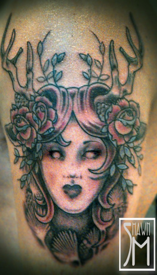 Mother Nature Tattoos: Shawn Mahaffey Custom Art