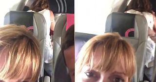 Ζευγάρι έβγαλε βίντεο άλλο ζευγάρι να κάνει σ*ξ μέσα σε πτήση