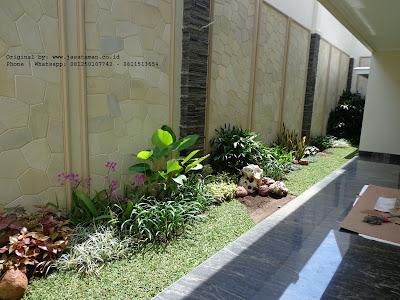 Taman dan batu alam | Tukang Taman Surabaya barat | www.jasataman.co.id