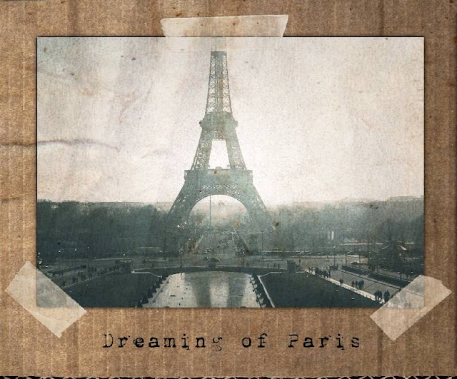 Tuesday Tune. Amelie, Midnight in Paris, Natasha in Oz, Eiffel Tower image