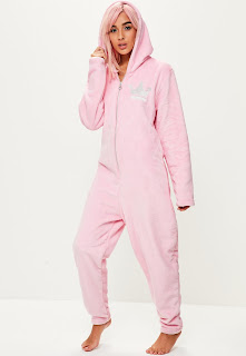 Pink princess onesie womens