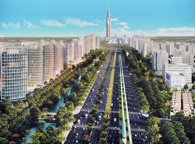 Hạ tầng dự án chung cư Intracom Riverside phát triển tương lai.