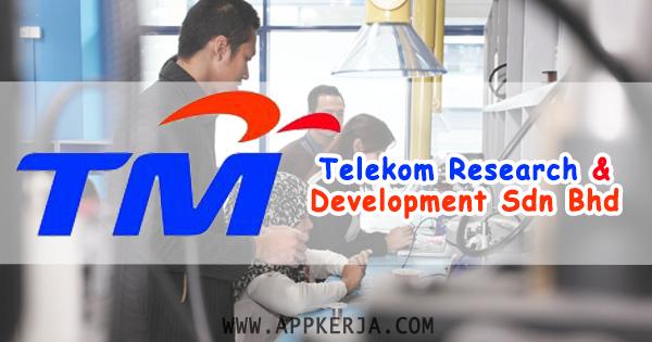 job Telekom Research & Development Sdn Bhd