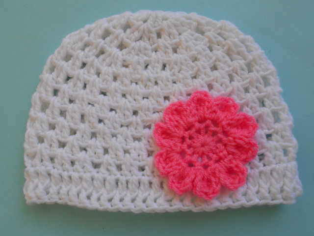 Crochet Crosia Free Patttern With Video Tutorials Baby Beanie