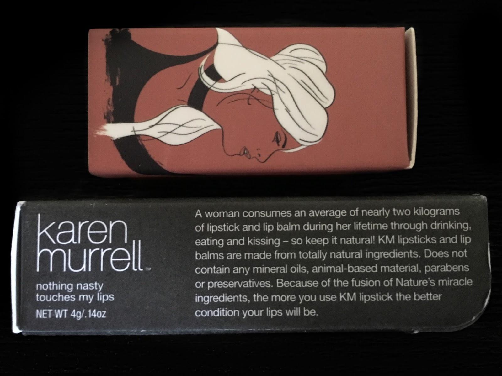 X N Makeup: Karen Murrell Orchid Bloom Lipstick