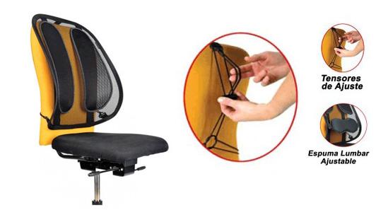 Suministros anbo comunicaciones silla ergon mica para la for La oficina caracteristicas