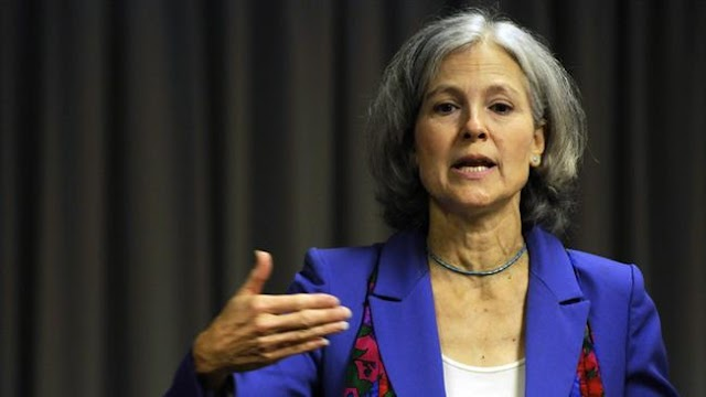 Banks, war profiteers control Republican and Democratic Parties: US Green Party presidential nominee Jill Stein