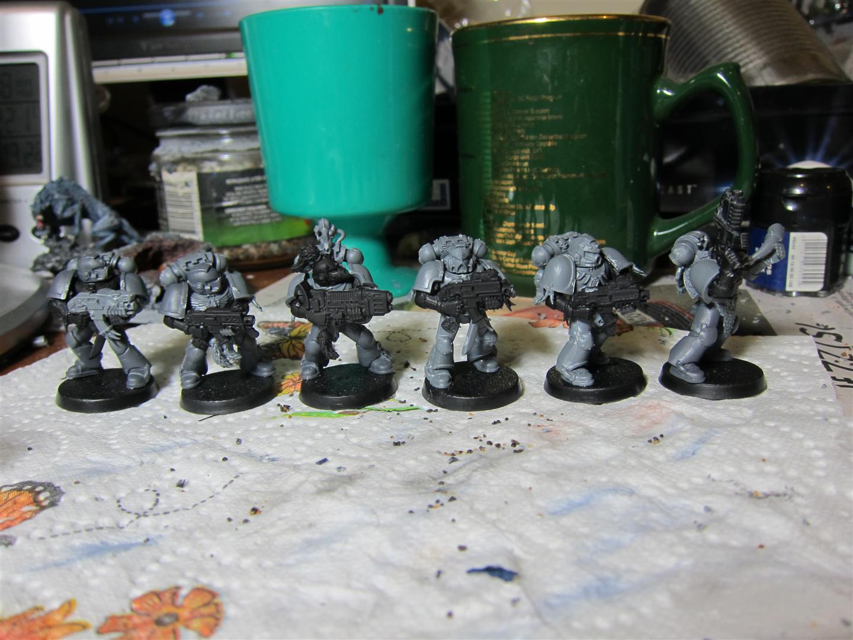Beine 5x Space Marine Terminator Squad Big Pack