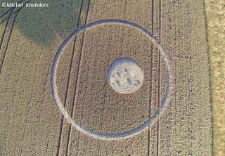Crop circles in the Netherlands, 4 July 2016. The circle is found by a contactee with gray, named Robert.