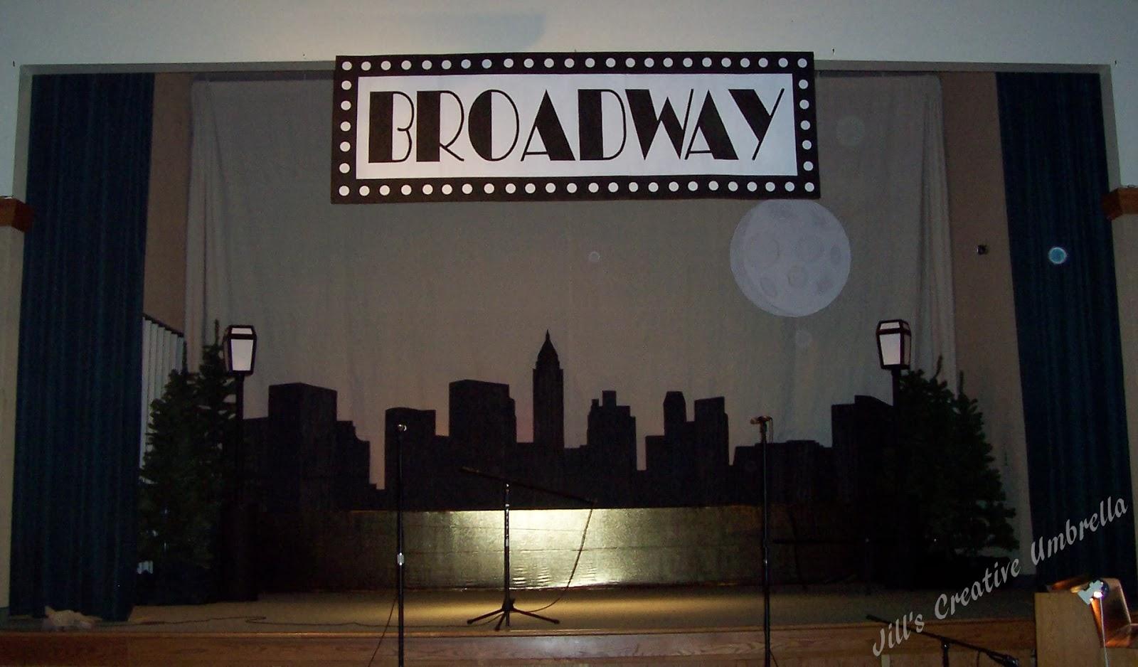 Jills Creative Umbrella Cardboard Creations  Broadway