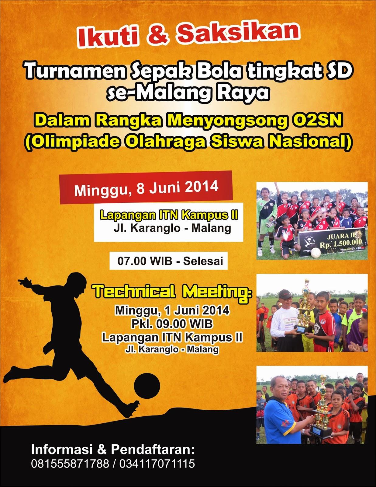 Contoh Poster Olahraga Sepak Bola Brad Erva Doce Info