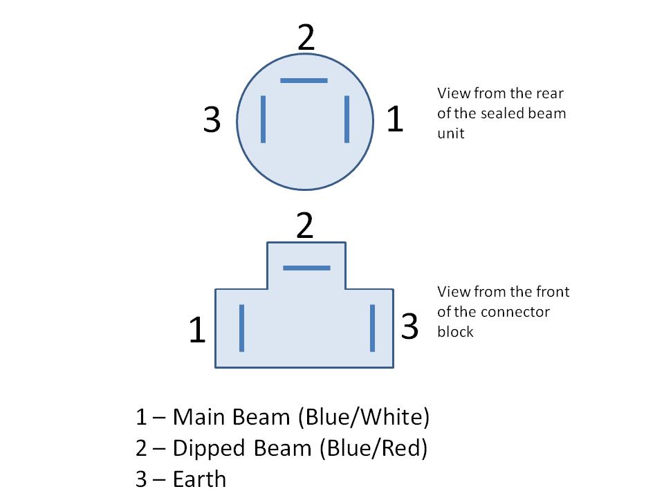 sealed beam headlight wiring diagram library wiring diagram ge sealed beam  headlight wiring diagram sealed beam