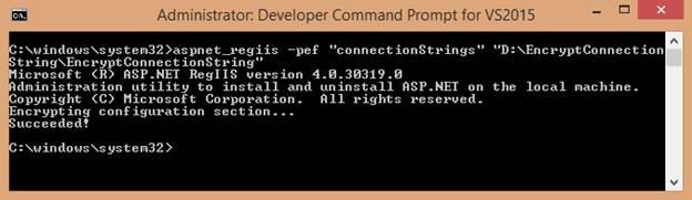 50) Encrypt Connection String in Web Config ~ CodeAndYou