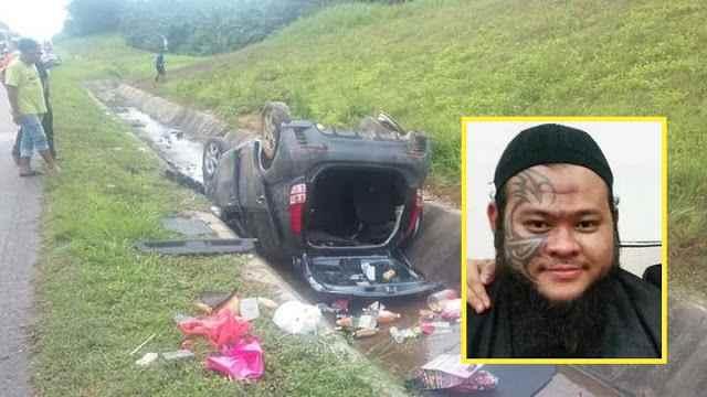 Abang Long Fadhil Terlibat Dalam Kemalangan Lagi