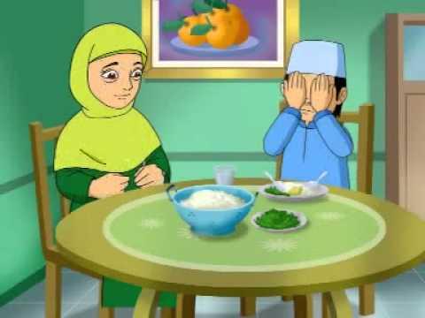 Tulisan Arab Doa Sebelum Makan - Arti Doa Sebelum Makan