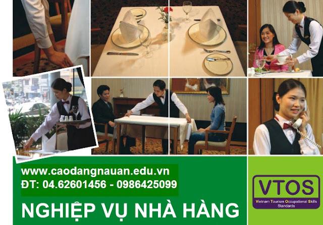 Nghiệp vụ Nhà hàng [Tiêu chuẩn VTOS - www.caodangnauan.edu.vn]