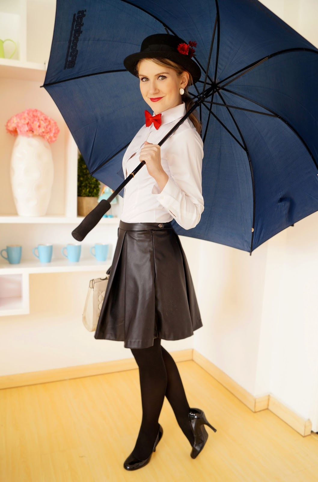 Last Minute Mary Poppins Halloween Costume