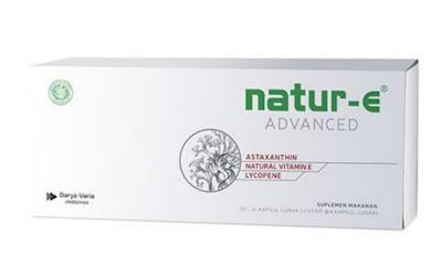 Harga Natur-E Advanced Suplemen Kulit Terbaru 2017