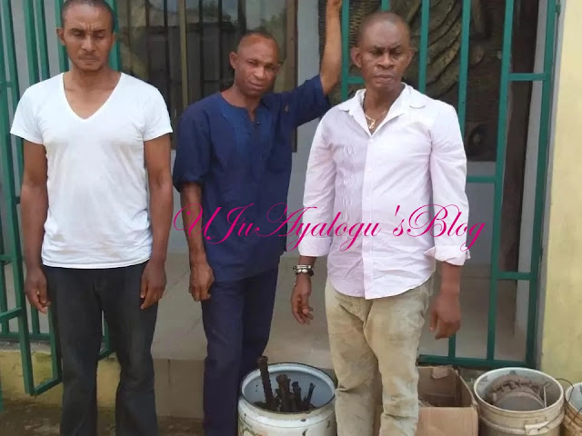EFCC arrests 4 over suspected fraud (photos)