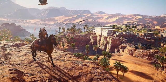 Assassins Creed Origins PS4 escenarios